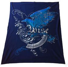 Wizarding World of Harry Potter Ravenclaw House Crest Large Fleece Blanket