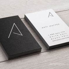 black and white minimal business cards Business Cards Layout, Square Business Cards, Company Business Cards, Minimal Business Card, Black Business Card, Simple Business Cards, Business Card Design, Student Business Cards, Custom Business Cards