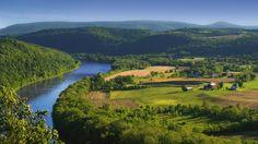 The Susquehanna River in Pennsylvania (Flickr/Meander)