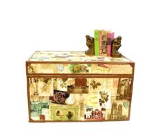 Vintage+Steamer+Trunk+Victorian+Graphics+Coffee+by+OceansideCastle,+$168.00