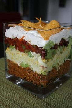 Rezept: Nacho Salat