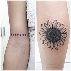 Flores - Tatuagem de Adriane Bazzo Tattoo Studio - Pouso Alegre/MG