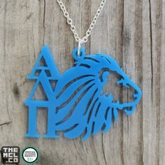 Alpha Delta Pi Alphie Icon Greek Licensed Necklace by TheMCL.co http://mycapitalletters.com