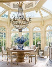Conservatory, chairs