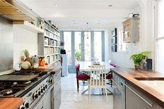 Kitchen, 3 bedroom terraced house for sale Kingswood Road, Penge