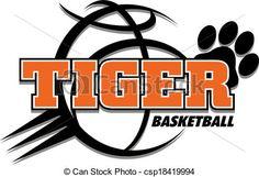 Vector - tiger basketball design - stock illustration, royalty free illustrations, stock clip art icon, stock clipart icons, logo, line art, EPS picture, pictures, graphic, graphics, drawing, drawings, vector image, artwork, EPS vector art