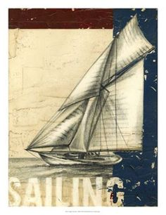 Vintage Tradewinds I Nautical Posters and Art