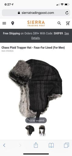 c009bd096e0 Extra Off Coupon So Cheap Mens Trapper Hat
