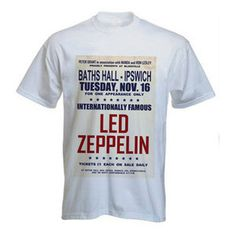 Led Zeppelin Poster T-Shirt
