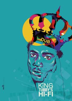 King-Tubby Art for those who love Reggae Dancehall For more awesome pins : #iQHamburg