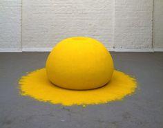 Anish Kapoor, very yellow