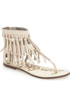 17bbe4ce246ddf Sam Edelman  Griffen  Fringe Sandal (Women) available at  Nordstrom Fringe  Sandals