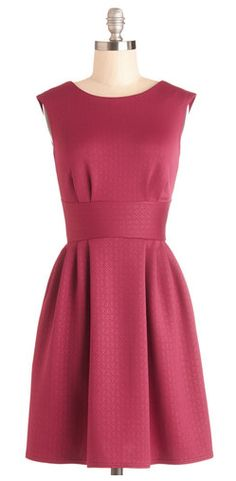 Boy Oh Boysenberry Dress - Modcloth