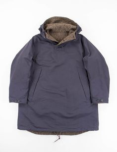 Navy Reversible Over Parka