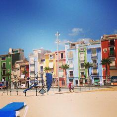 La Villa Joyosa, Spain - Colours Galore