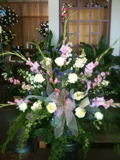 Funeral Basket for lady