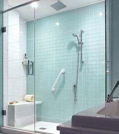 Une fraîcheur turquoise dans la salle de bains | CHEZ SOI