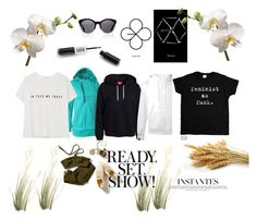 """""""casual style"""" by lim-qiqi on Polyvore featuring Kerr®, SWEAR, MANGO and Hansen"""