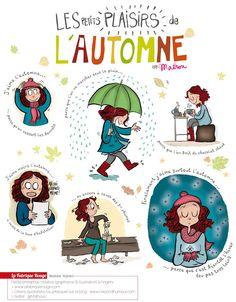 Les Petits plaisirs de l'automne  Illustration blog Crayon d'Humeur  http://crayondhumeur.blogspot.fr/