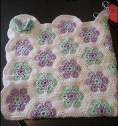 Resultado de imagen de crochet african flower