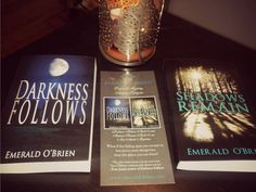 Darkness Follows, Shadows Remain, New Adult Mysteries by Emerald O'Brien