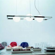 Rotaliana Bubble H suspension lamp