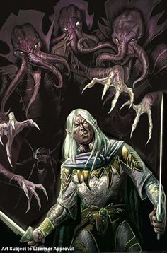 forgotten realms ... facing the mind flayers