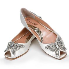 Can't picture yourself wearing six-inch heels on your wedding day? You're not alone. Here, check out some fabulous flats that are perfect for brides craving comfort — without sacrificing style.