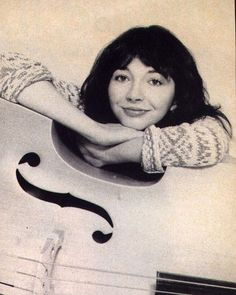 Kate Bush circa 1980 (the double bass from the Babooshka music video?)