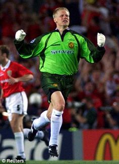 Schmeichel's eight years at Manchester United were a huge success
