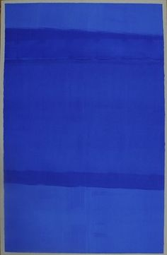 1967 acrylic on paper Untitled by Anne Truitt