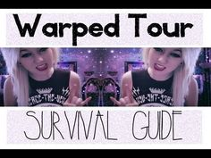 Warped Tour Survival Guide. Gonna have to watch this later.