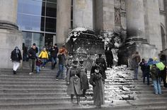 Funny pictures about Ghosts of World War II. Oh, and cool pics about Ghosts of World War II. Also, Ghosts of World War II photos. Old Pictures, Crazy Pictures, Ghost Pictures, Random Pictures, Vintage Pictures, Berlin 1945, Berlin Germany, Photo Blend, Saint Petersburg