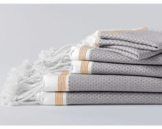 <p>Lightweight, fast-drying and pleasingly textural. Made with GOTS certified organic cotton.</p>