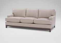 Arcata Leather Sofa, Devine/Bone