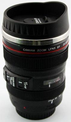 Camera Lense Travel Mug Amazon