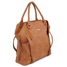timi & leslie Charlie Convertible Diaper Bag – Honey Gold