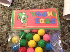 Super Mario Party Yoshi Eggs Party Favor