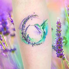 #tattoo #hummingbird #colibri #hummingbirdtattoo