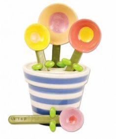 flower pot measuring spoons