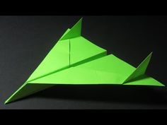 Paper Planes - How to make a Paper Airplane that Flies Far - Best Paper Airplane Tutorial | Bomber