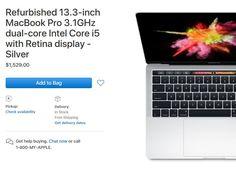 Apple Online Store bietet generalüberholte MacBook Pro von 2017/2016 - https://apfeleimer.de/2017/08/apple-online-store-bietet-generalueberholte-macbook-pro-von-20172016 - Shortnews: Apple hat sein Angebot generalüberholter Geräte in seinem Apple Online Store überarbeitet. In den USA sind zum ersten Mal die MacBook Pro Modelle von der WWDC 2017 im Store zu haben. Hierzulande müssen wir uns mit den Modellen von 2016 (Oktober) begnügen, die es aktuell ebenfalls zum...