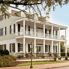 The South's Best Bed & Breakfast: Fort Conde Inn, Mobile, Alabama | Historic Fort Conde is a complex settled by the French in the 1720s. Now the Fort Conde Inn, a nearby 1836 Victorian mansion with whitewashed balconies, has kicked off a 14-building revitalization in the heart of downtown Mobile.
