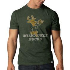 Milwaukee Bucks Bottle Green Scrum Basic Tee