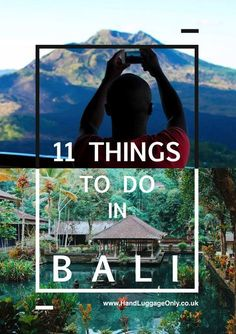 11 Things to do in Bali