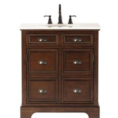 Home Decorators Collection Prado 30 In Vanity With Stone Effects Vanity Top In Cold Fusion And