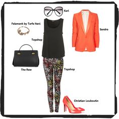 Outfit Of The Day – Aztec Prints created by @The Closet Clause TCC