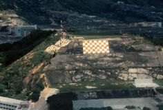 1974 Checkerboard Hill Kai Tak Airport, View Map, Planes, Paris Skyline, Hong Kong, City Photo, Aviation, Checker Board, Cathay Pacific