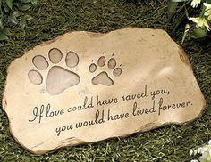 Pet Memorial Garden Stones $16.00