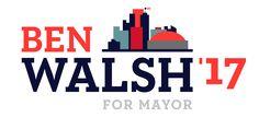 Ben Walsh for Mayor campaign logo